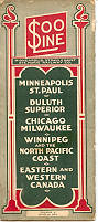 Passenger Timetable from June 28, 1931